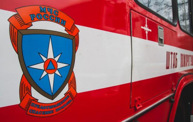 ВКалининграде произошёл сверепый пожар впроизводственном помещении