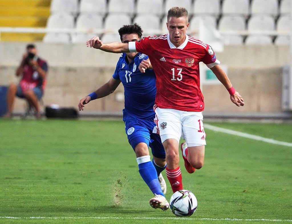 Самошников пропустит часть подготовки сборной России к октябрьским матчам отбора ЧМ-2022