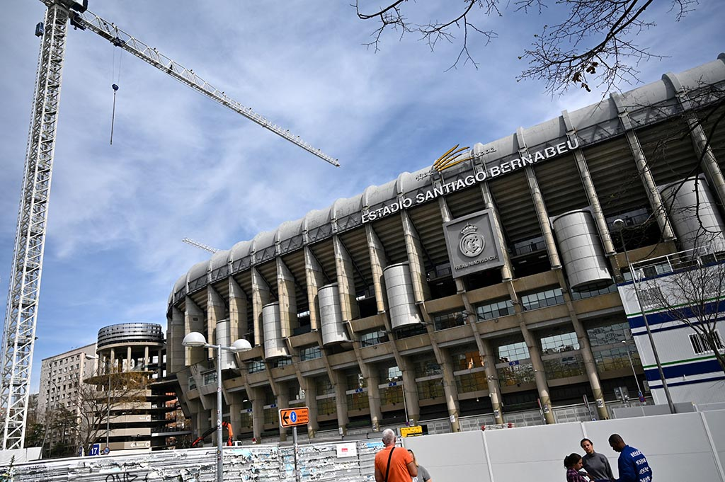 «Реал Мадрид» возвращается на «Сантьяго Бернабеу»