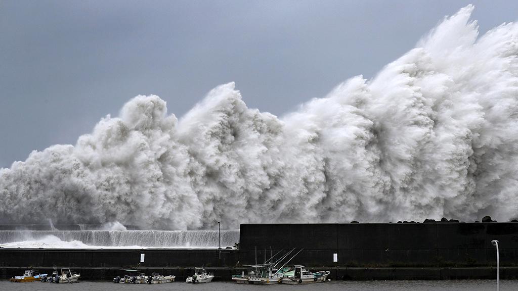 сильный дождь из-за тайфуна «Джеби» Image585484_9e6b709aec8ec6c423cb5614c018faf1