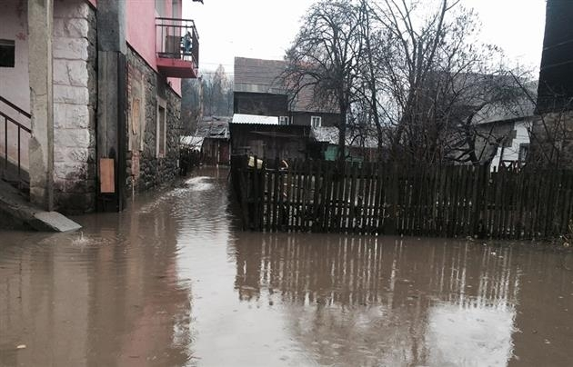 НаЗакарпатье реален паводок, есть риск подтопления Ужгорода