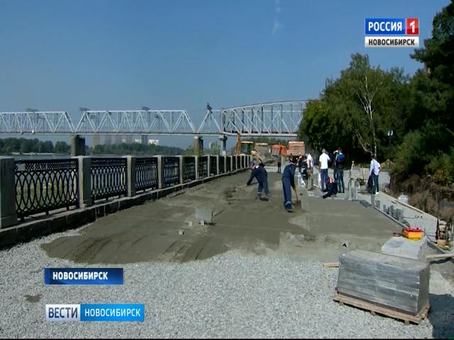 Работы пореконструкции Михайловской набережной планируют закончить к15октября
