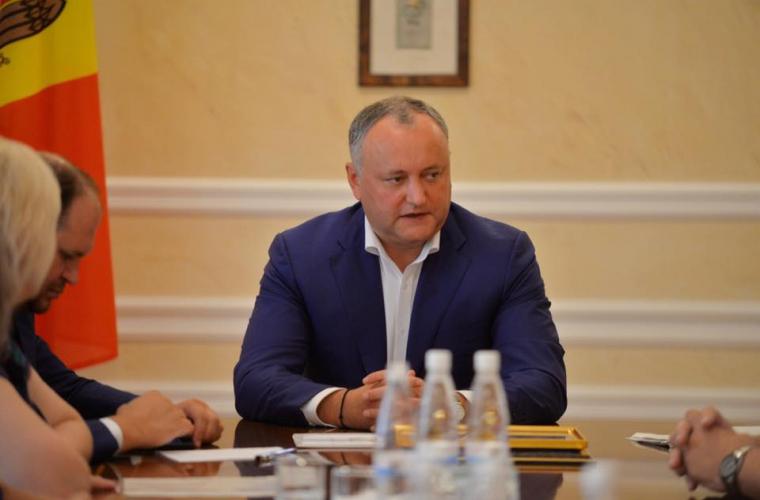Президент Молдавии назвал разговоры овизовом режиме сРоссией провокацией