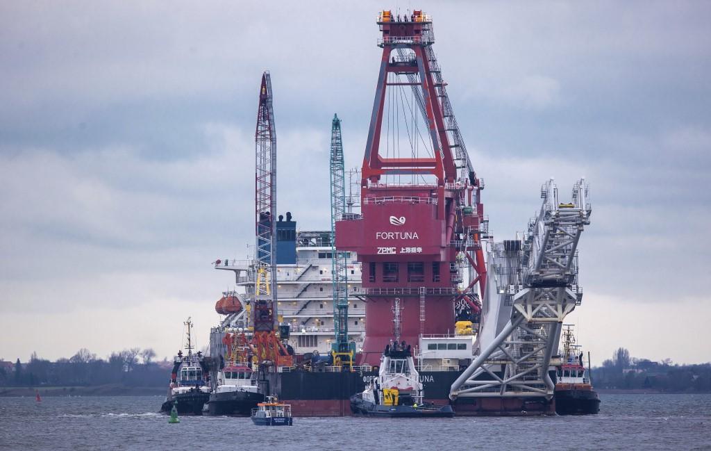 СМИ: США введут санкции против ведущего укладку «Северного потока — 2» судна