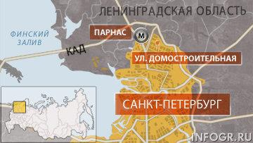 Район парнас санкт-петербург карта