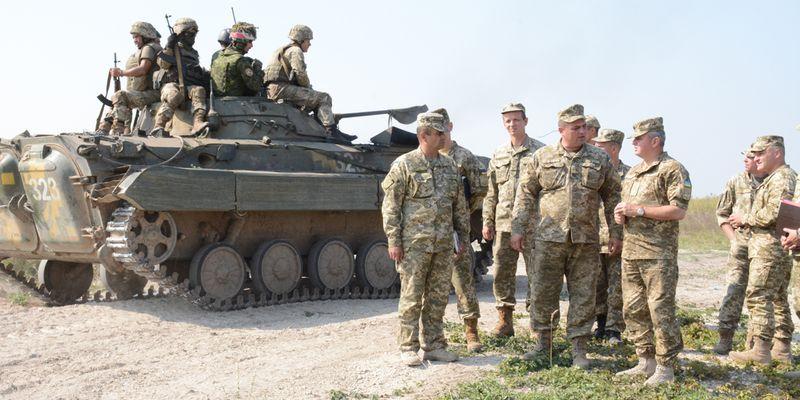 НаДонбассе ведутся работы поотведению украинских войск отлинии соприкосновения— штаб