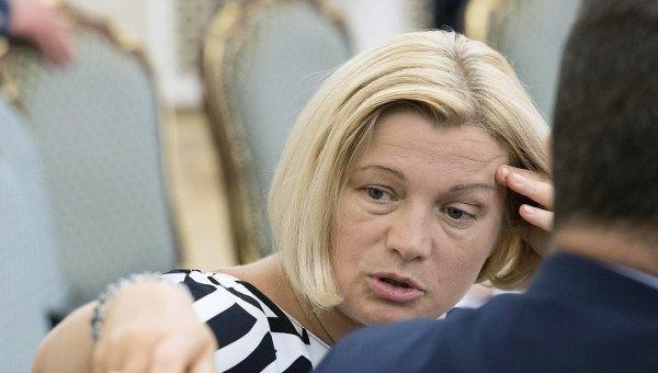 Верификация пленных займет время— Ирина Геращенко