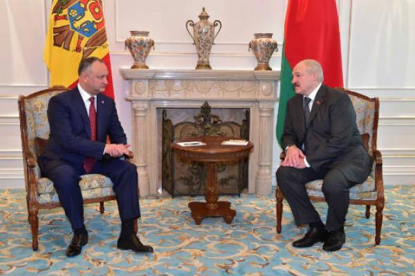 Лукашенко навстрече сДодоном признался в давнишней симпатии кМолдове