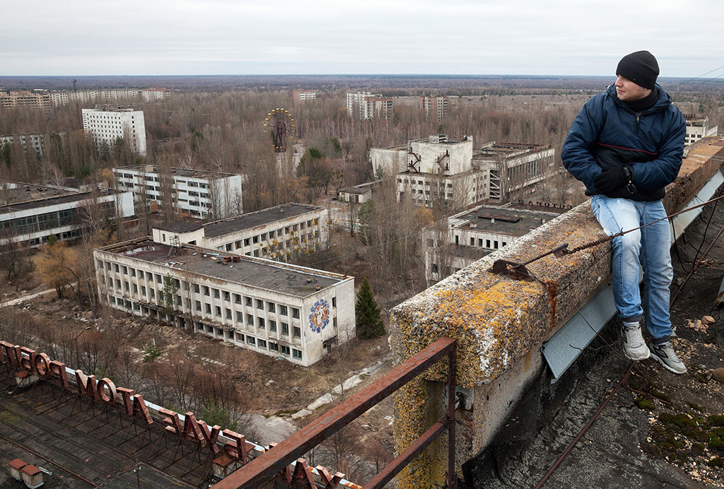 В чернобыле живут показать фото