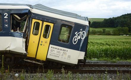 В Орвьето машинист остановил поезд