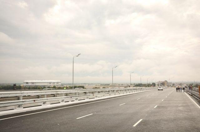 Движение поВорошиловскому мосту откроют 13сентября