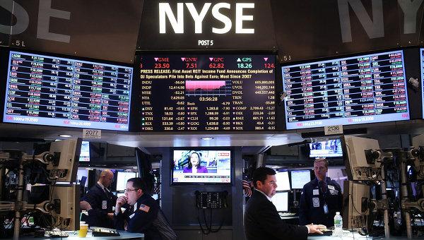 NYSE на Уолл-Стрит