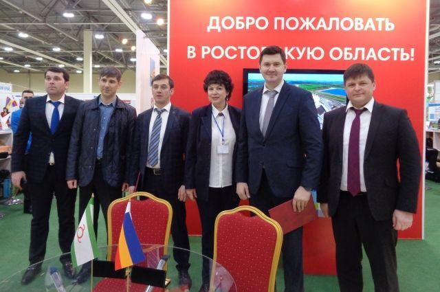 Ингушетия подписала соглашение осотрудничестве втуризме сРостовской областью