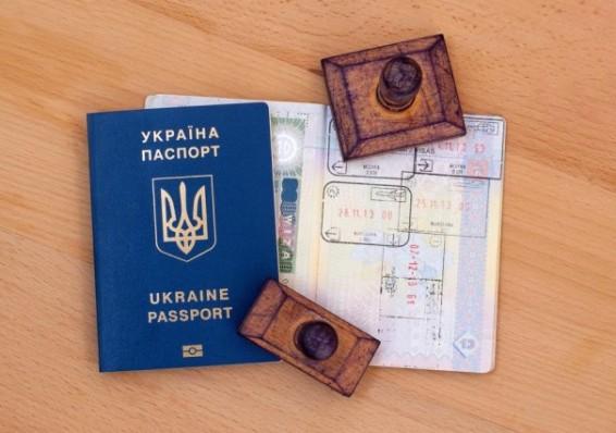 Неменее 120 тыс. украинцев пересекли границу с европейским союзом без виз