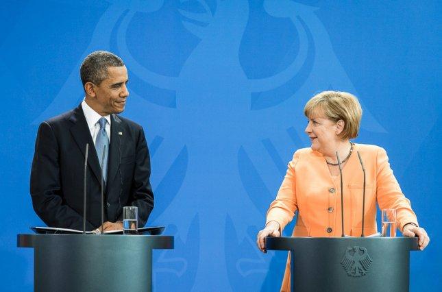 Путин иМеркель обсудили ситуацию вСирии и вУкраинском государстве