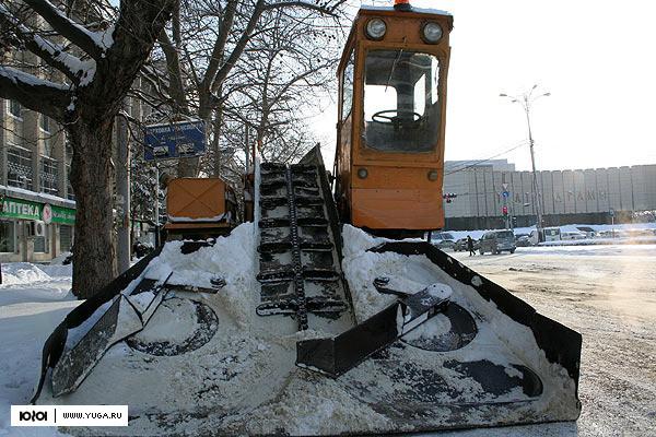 кто очищает улицы от снега в краснодаре Советском районе
