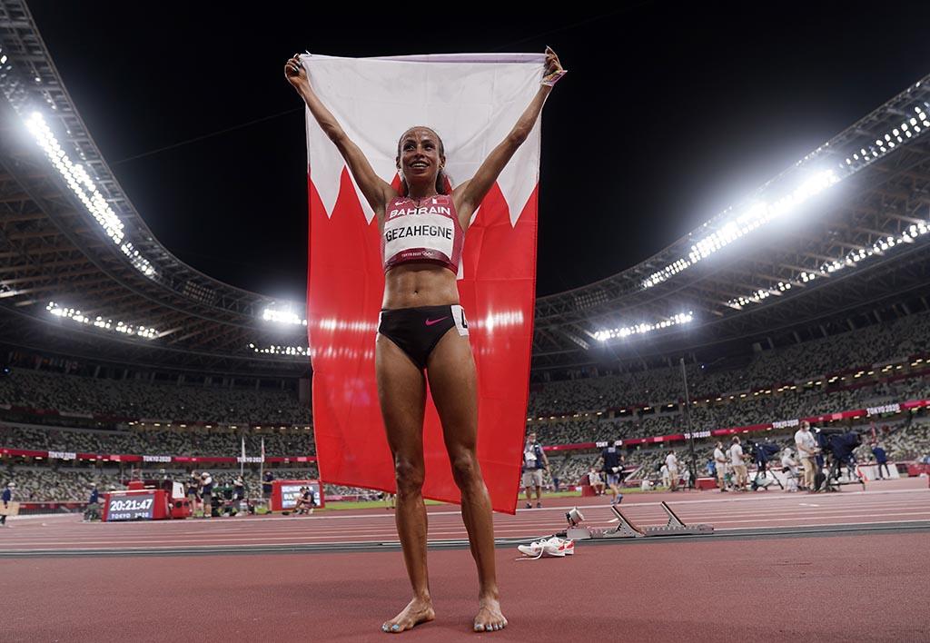 Гезань установила новый мировой рекорд в беге на 10 км