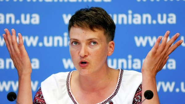 Савченко испугалась, что докатится до потасовки вВерховной Раде