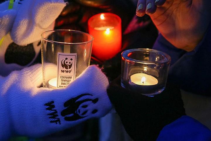 Санкт-Петербург примет участие вмеждународной акции «Час Земли»