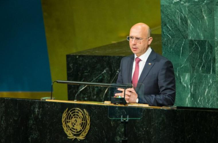 Премьер Молдавии потребовал вывода русских миротворцев изПриднестровья