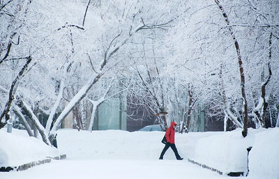 Аномальные морозы в РФ: доминус 57 градусов