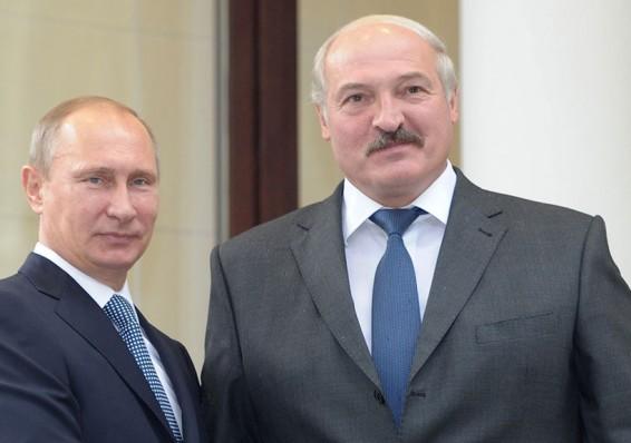 Путин прибыл вМинск для переговоров оСоюзном государстве