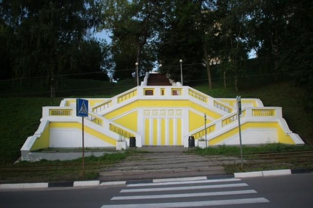 Объявлен конкурс наремонт лестницы отул.Пискунова кЗеленскому съезду