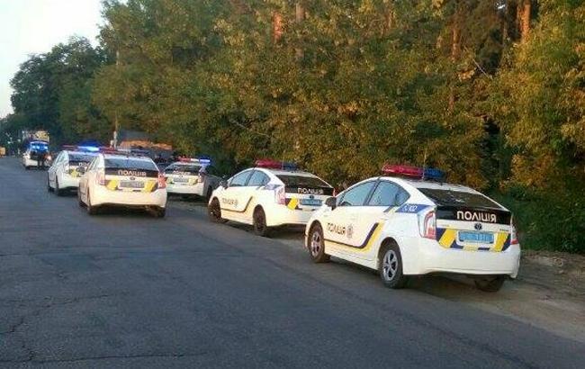 ВКиеве «копы» навосьми автомобилях устроили погоню занарушителем