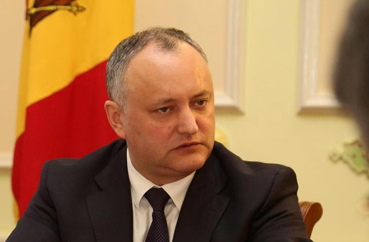 Президент Молдавии готов призвать кпротестам ибойкоту парламентских выборов