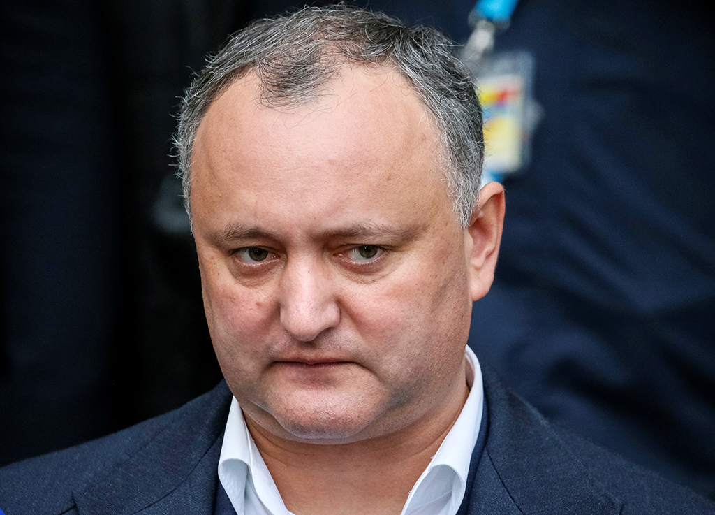 Конституционный суд Молдавии приостановил полномочия президента