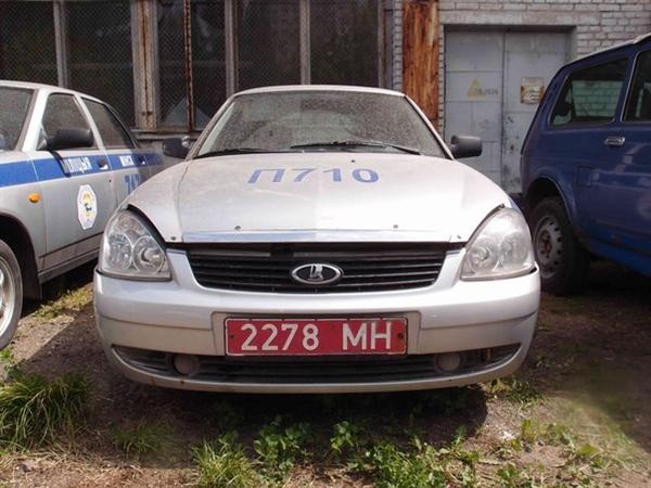 ГУВД республики Белоруссии пустило смолотка старый милицейский автозак