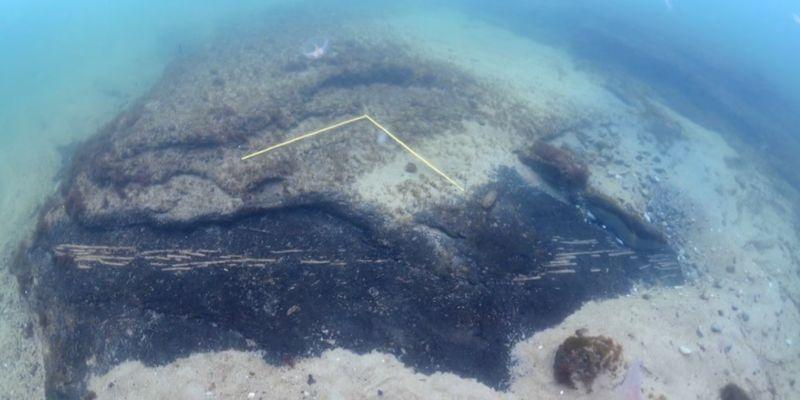 НаYoutube появилось ВИДЕО таинственного затонувшего поселения надне Балтийского моря