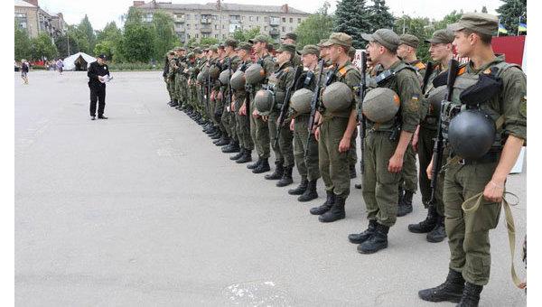 Милиция Донецкой области усилила меры безопасности