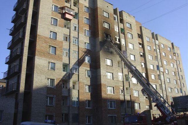 На проспекте мира горели лоджии в 16-этажном доме. спасены д.
