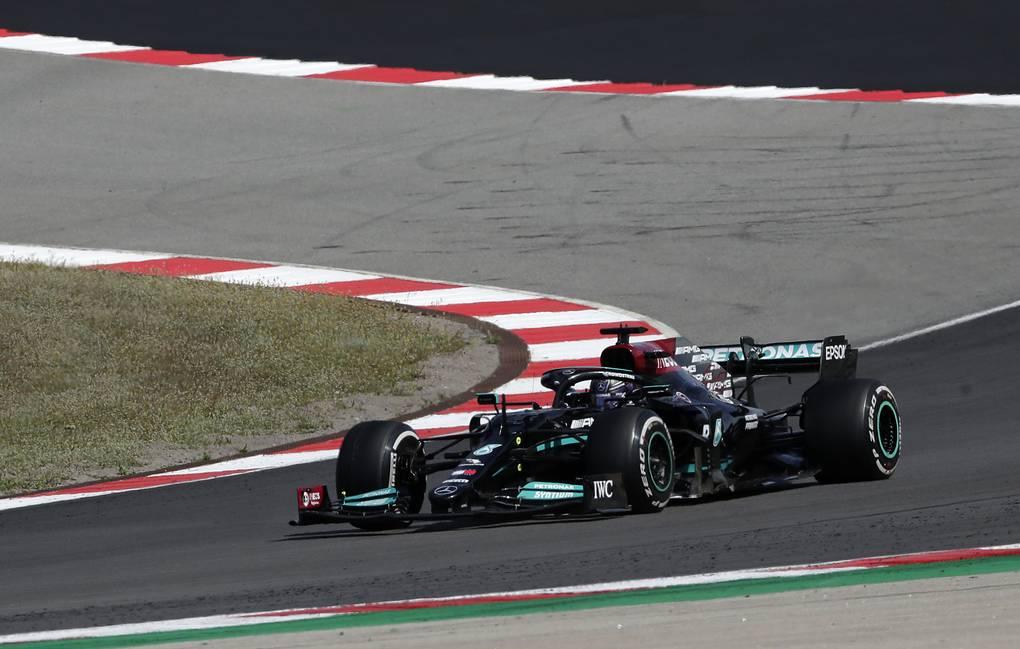 Хэмилтон выиграл Гран-при Португалии. Мазепин занял последнее место