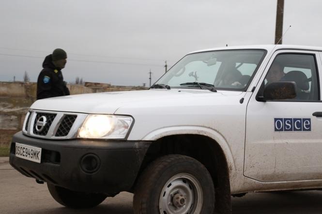 Патруль ОБСЕ попал под обстрел уЗолотого