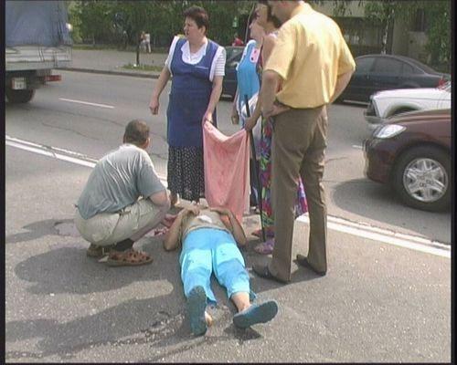 повторил гаишник сбил пешехода в чувашии никакого