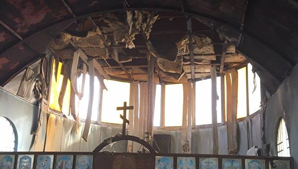 ВМариуполе горела церковь УПЦ КП— Волонтер