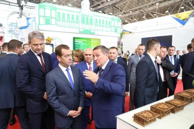 Экспозиция Волгоградской области займёт наведущей сельскохозяйственной выставке страны две площадки