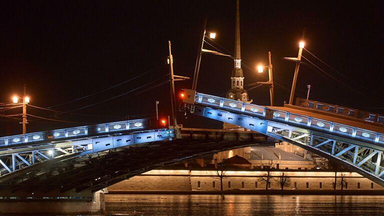 Мосты в Петербурге не будут разводить ночью после матча Россия — Бельгия