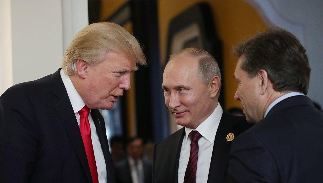 Трамп доверяет мнению разведки в вопросе «вмешательства России» в выборы