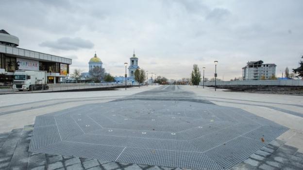 ВВоронеже завершили 1-ый этап реконструкции Советской площади