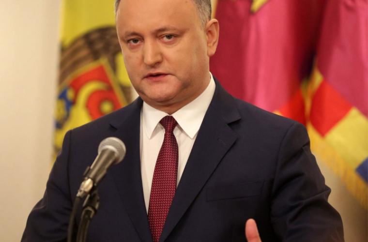СРоссией мыможем решить большинство трудностей, скоторыми сталкивается Молдова,— Додон