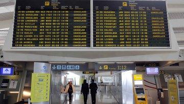 Барселона аэропорт прилет