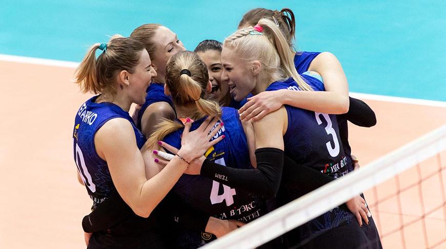Волейболистки «Минчанки» укрепили лидерство в финальной серии чемпионата Беларуси