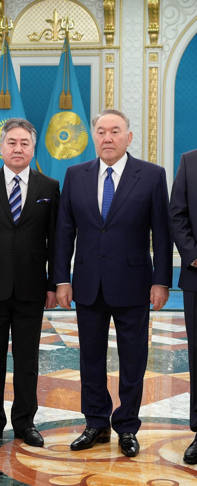 Нурсултан Назарбаев встретился с послами пяти стран - Mail.ru Новости c2cba0f3836