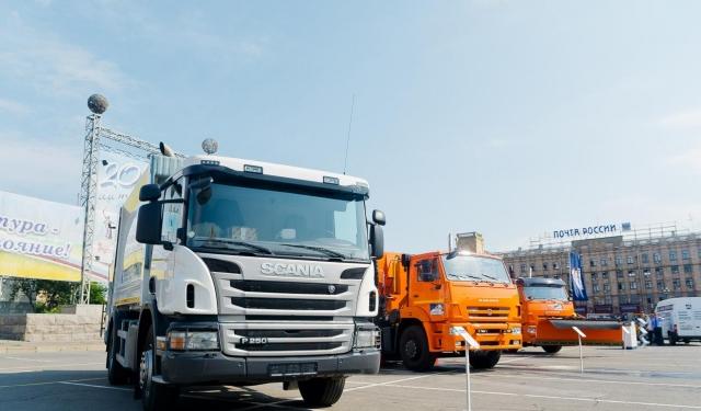 Волгоград присоединится кВсероссийскому параду коммунальной техники