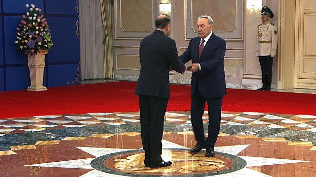 Нурсултан Назарбаев назвал эталонными отношения междуРФ иКазахстаном
