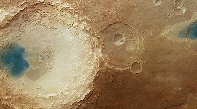 Вода наМарсе, скорее всего, была неприятной навкус