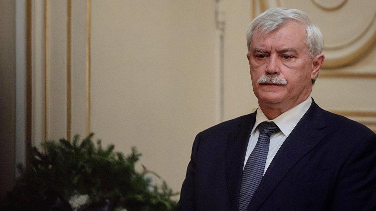 Полтавченко назвал рабочей ситуацию состроительством «Зенит-Арены»